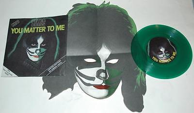 Kiss, Peter Criss, You Matter To Me*hooked On, 1978 Casablanca 139, Green + Mask