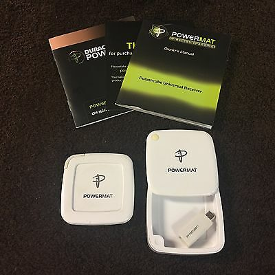Powermat PMR-PPC1 Wireless Charging Receiver for Micro Mini Device
