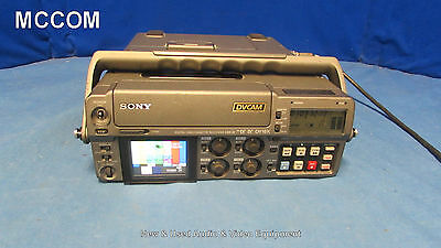 Sony DSR-50 DVCAM Portable Player/ Recorder w/ 360 tape hrs