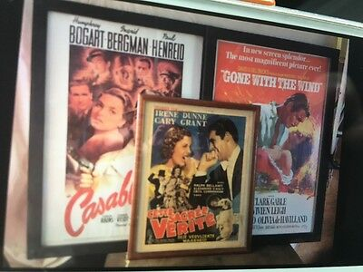 Framed movie posters (3)