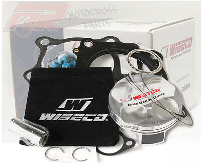 Wiseco Honda CRF250R CRF250 R Piston Kit Top End 76.8mm 14:1 High Comp 2014-15