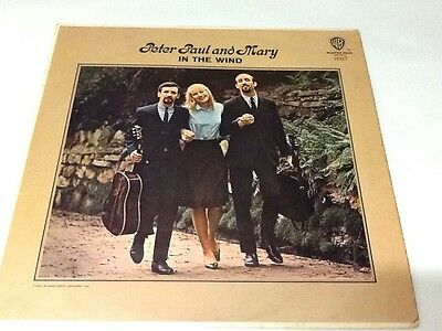 Peter Paul And Mary IN THE WIND Vinyl Album LP 1963 Mono