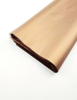 Luxury Bronze/ RoseGold Copper Tissue Paper DoubleSided wrapping paper 20 x 30""
