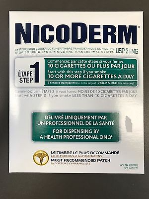 Nicoderm 21 Mg Patch Step 1