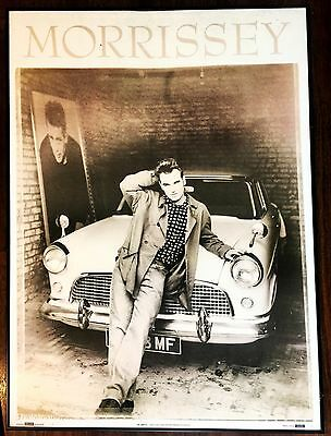 Authentic Original Large Morrissey Poster Printed In 1991 From England Framed!!