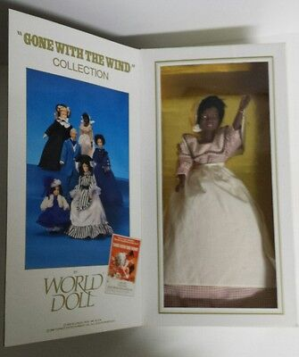 """Gone With Wind"" 50th Anniversary Prissy WORLD DOLL Limited Edition #71072 RARE"