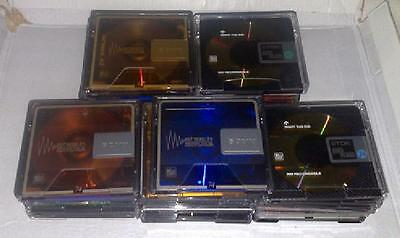 15 used blank Minidiscs  - all with cases.  FREE P&P