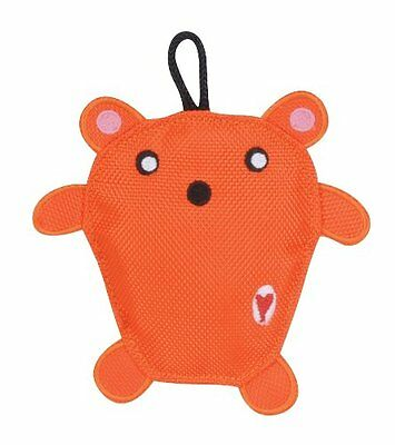 Hugglehounds Wee Orange Bear Sport Edition Durable Dog Toy. Free Ship To The Usa