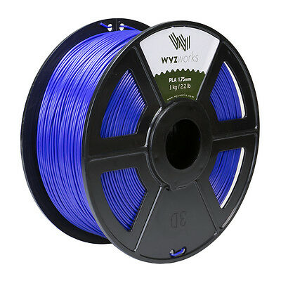 WYZwork 3D Printer Premium PLA Filament 1.75mm 1kg/2.2lb - Violet