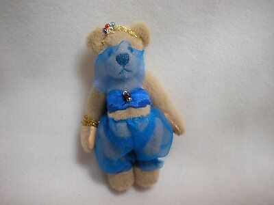 """World of Miniature Bears 2.75"""" Cashmere Bear Solame #659 Collectible Bear"""