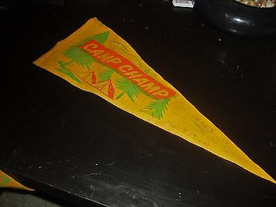 Scout Badges Pennants Woodhouse 1969 Camp Champ South Australia