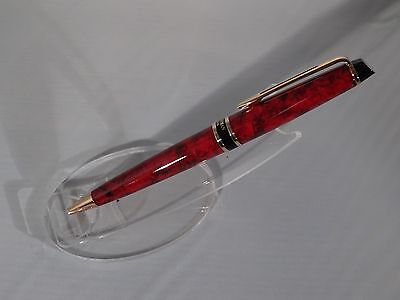 New Waterman Expert Ii Oriental Red Ballpoint Pen  Mint In Box  Made In France