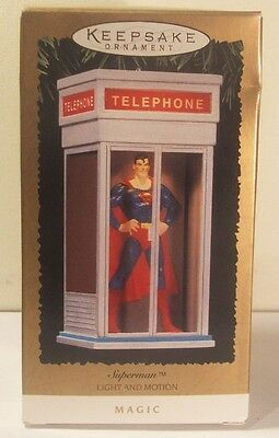 Hallmark Keepsake New 1995 Superman Light & Motion Magic Ornament NRFB