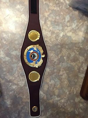 WBO World Boxing Organization Belt