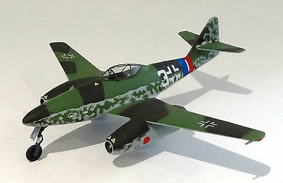 Dragon Warbirds 1/72 diecast model Me262-1a 9./JG7 sthn Germany 1945 DW50186