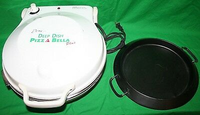 Deni Deep Dish Pizza Bella Plus with Pizza Stone and Deep Dish Pan 12""