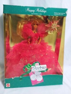 1990 Happy Holidays Barbie - Never removed from box!