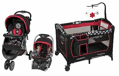 Baby Stroller Car Seat Travel System Infant Nursery Playard Crib