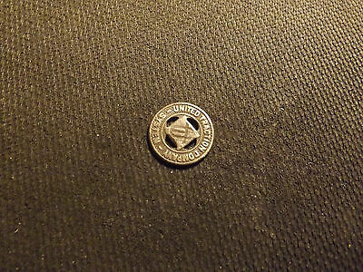 United Traction Company System Good For One Fare Token! Lot 101-Z