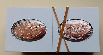 50 Elongated Flips with 2 FREE Uncirculated Pennies!
