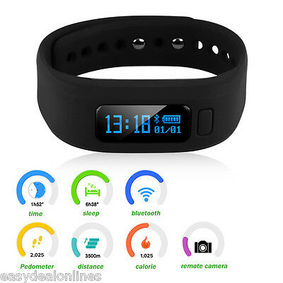 Diggro moving up2 Reloj pulsera Inteligente Wristband Deportiva Podómetro Negro