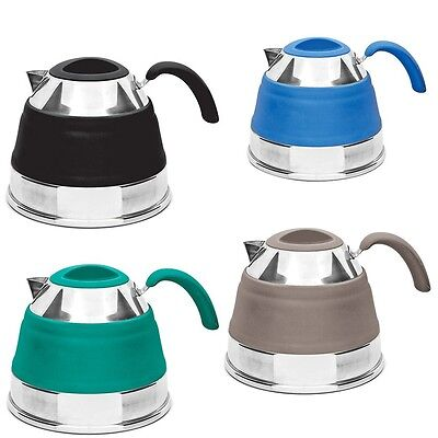 Popup Silicone Kettle 1.5L - All Colours - COMP333BK