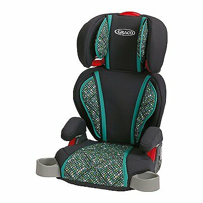 Graco Highback TurboBooster Seat, Mosaic Easily Converts to Backless Booster!