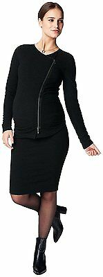 Noppies Womens Maternity Cardigan Knit Long Sleeve Siri, Black, L