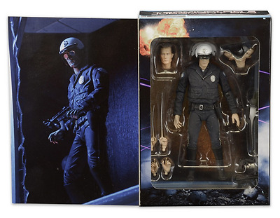 "TERMINATOR 2 ~ T-1000 Motorcycle Cop 7"" Ultimate Action Figure (NECA) #NEW"