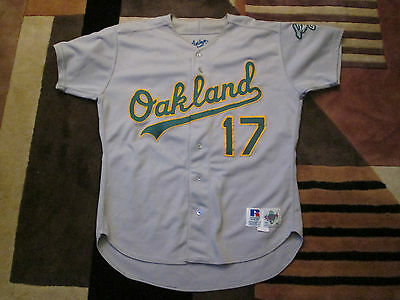 MLB Oakland A's Ron Darling Game worn jersey 1991-1995