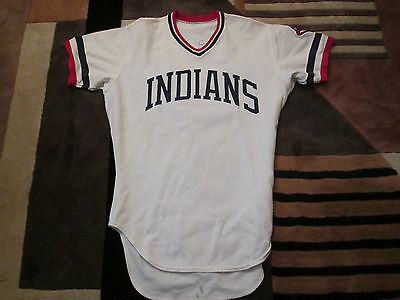 MLB 1979 Mike Hargrove Cleveland Indians Game Worn Jersey - Rare