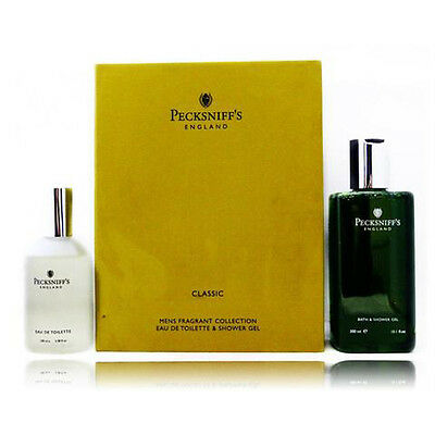 Pecksniff's Mens Classic Cologne & Shower Gel Set. Great for Fathers Day!