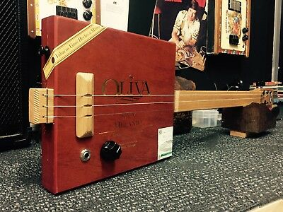 Buzz Box Cigar Box Guitar - Oliva Cigar Box