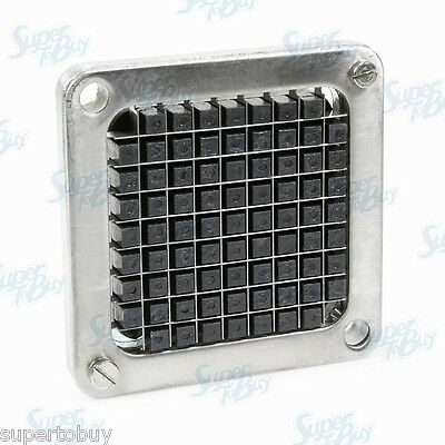 """Replacement 3/8"""" Blade Assembly and Pusher Block - Commercial French Fry Cutter"""