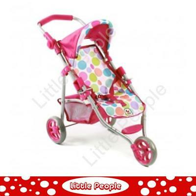 Dolls Accessories - Chic 2000 Bayer Jogging Buggy Lola - Summer Bubbles