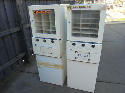 Drink Vending Machines x 2 - Moneymaker, business, trades, mancave ,