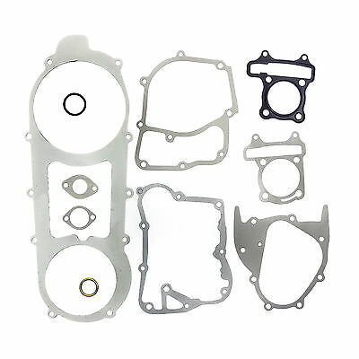 Complete Gasket Set 450mm GY6 152QMI 125cc Chinese Scooter Engine Baotian BTM