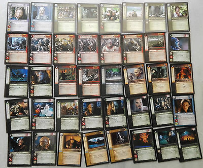Lord of the Rings TCG 40 cards Realms of the Elf-lords ΝΟ DUPLICATES cards lotr