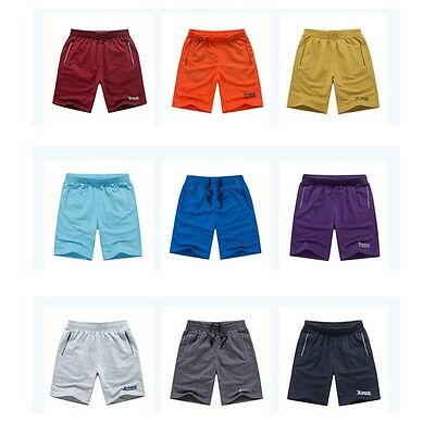 Men's Shorts Trousers Fitness Gym Casual Running Crop Pants Sports Beach Shorts