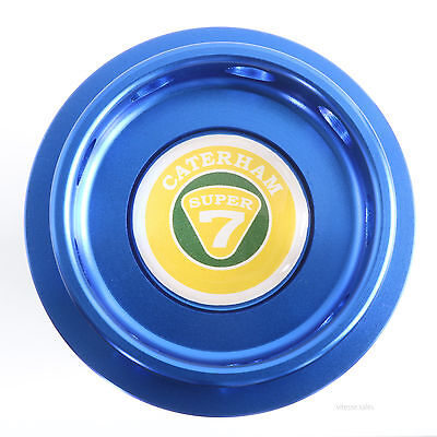 Caterham Super 7 K Series Engine Oil Filler Cap 50g Blue Billet Aluminium K16VVC