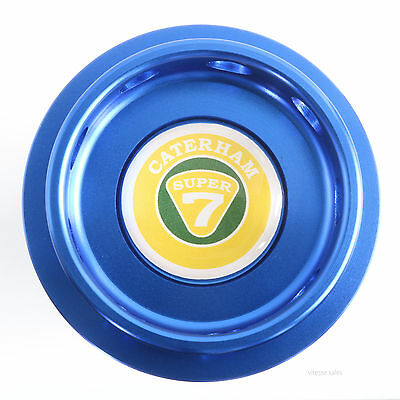 Caterham Super 7 K Series Oil Filler Cap Blue Anodised Billet Aluminium K16 VVC