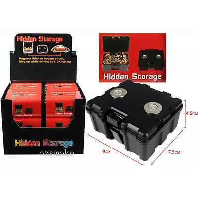 Magnetic Car Truck Safe Hidden Storage Stash Box