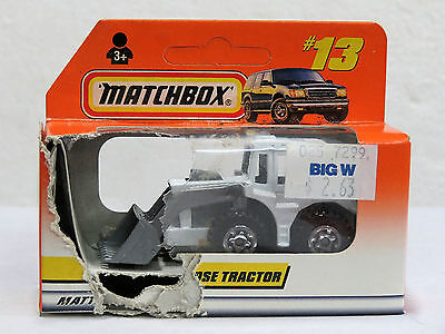 MATCHBOX Diecast Machine SHOVEL NOSE TRACTOR #13 1998  New in Opened Box 33414