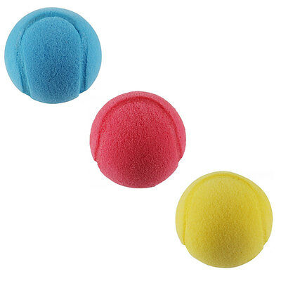 MONDO SOFT Tennisbälle 3er Pack aus Schaumstoff 70mm Tennis Ball Softball 104258