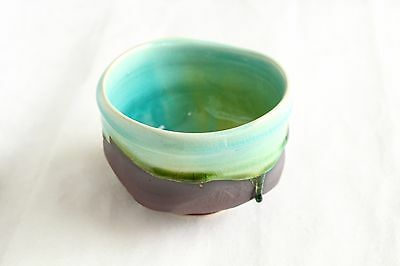 Mino yaki Japanese tea cremony bowl Shinkai hen chawan Matcha ACTUAL Piece w/box