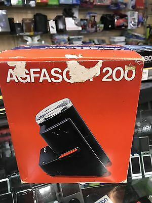 AGFASCOP 200 SLIDE VIEWER with box