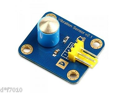 Arduino vibration sensor digital sensor vibration switch blue