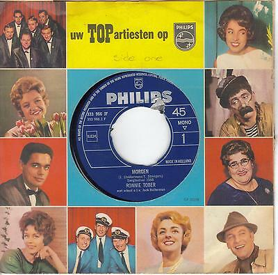 """Eurovision Song Contest 1968 Netherlands """"Morgen"""" Ronnie Tober on 7"""" single"""