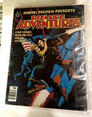 Marvel bizarre Adventures #20 Winter 1980 MG67