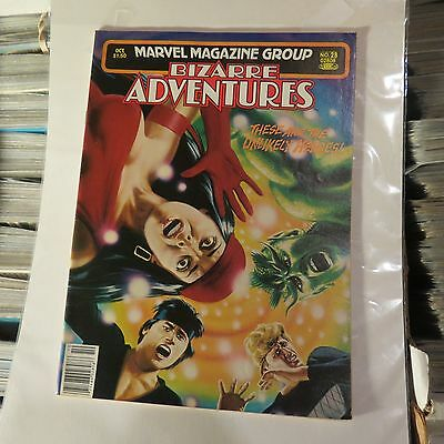 Marvel Bizarre Adventures #28 Oct 1981  Vintage MG125